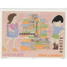 2010 ALBANIA EUROPA CEPT -...