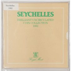 1982 SEYCHELLES DIVISIONALE...
