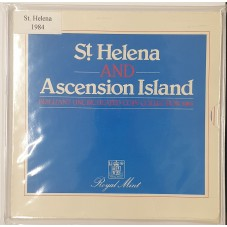 1984 ST. HELENA E ASCENSION...