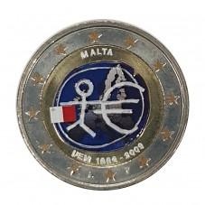 2009 MALTA 2 EURO...
