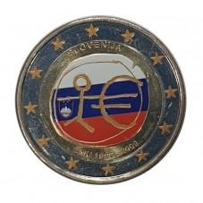 2009 SLOVENIA 2 EURO...