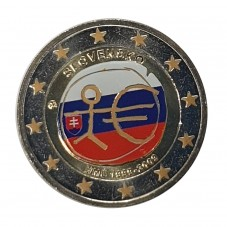 2009 SLOVACCHIA 2 EURO...