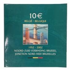 2002 BELGIO 10 EURO...