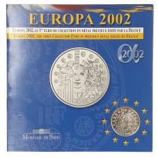 2002 FRANCIA 1/4 EURO...