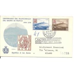 1958 FDC FAIP SAN MARINO...