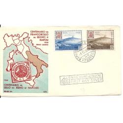 1958 FDC ALFIL SAN MARINO...