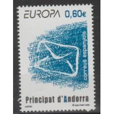 2008 ANDORRA SP.  EUROPA...