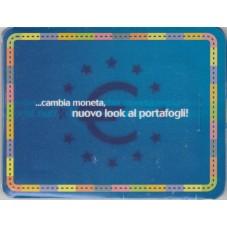 2002  SCHEDA CAMBIA MONETA...