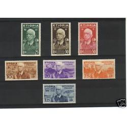 1936 ETIOPIA  EFFIGIE...