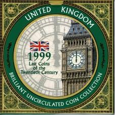 1999 GRAN BRETAGNA UK COIN...