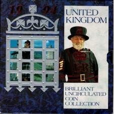 1994 GRAN BRETAGNA UK COIN...