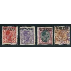 DANIMARCA 1919-1920 PACCHI...