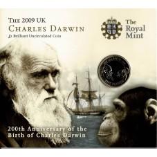 2009 GRAN BRETAGNA UK 2 £...