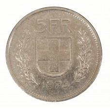 1975 SVIZZERA 5 FRANCHI - B...
