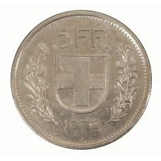1979 SVIZZERA 5 FRANCHI - B...