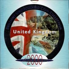 2000 GRAN BRETAGNA UK COIN...