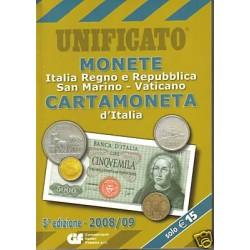 UNIFICATO 2008-2009 MONETE...
