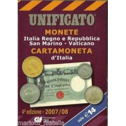 UNIFICATO 2007-2008 MONETE...