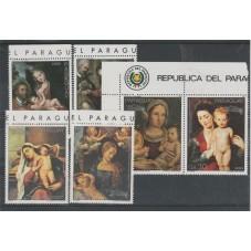 PARAGUAY 1987 - NATALE  -...