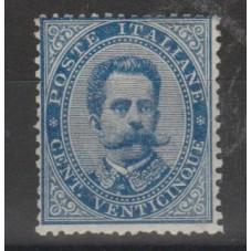 1879 REGNO ITALIA 25 c...