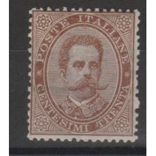 1879 REGNO  30c BRUNO...
