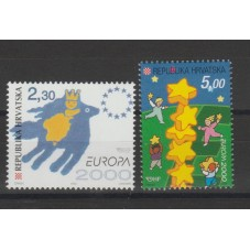 2000 CROAZIA EUROPA CEPT I...