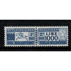 1954 PACCHI POSTALI 1000...