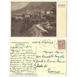 CARTOLINA - VAL D AOSTA -...