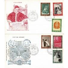 1966 FDC FILAGRANO VATICANO...