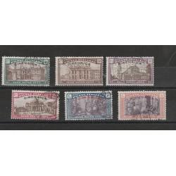 1925 CIRENAICA SERIE ANNO SANTO 6 VALORI USATI MF55475