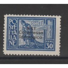 1930 ISOLE EGEO  XXI...