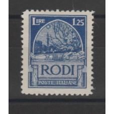 1929 ISOLE EGEO RODI...