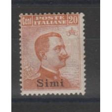 1921-22 ISOLE EGEO SIMI 20...