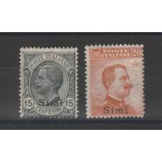 1921-22 ISOLE EGEO SIMI...