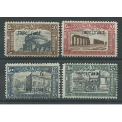 1927 TRIPOLITANIA SERIE MILIZIA I 4 VALORI NUOVI MLH MF27562