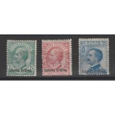 1908-09 ERITREA SERIE...