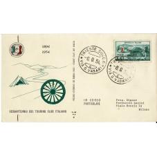 1954 FDC ALA TRIESTE A...
