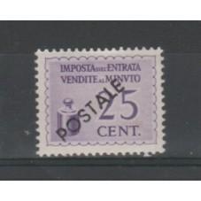 1944 REPUBBLICA  CENT. 25...