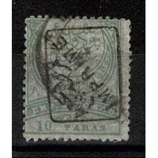 1891 TURCHIA 10 Pa. VERDE...