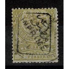 1891 TURCHIA 2 Pi. OLIVA...