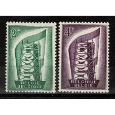 1956 BELGIO EUROPA CEPT...