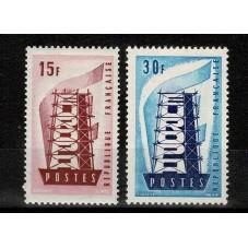1956 FRANCIA EUROPA CEPT...