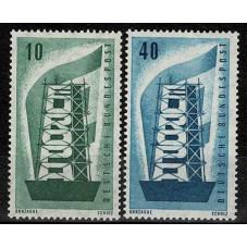 1956 GERMANIA EUROPA CEPT...