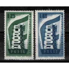 1956 ITALIA EUROPA CEPT...