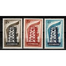 1956 LUSSEMBURGO EUROPA...