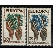 1957 FRANCIA EUROPA CEPT...