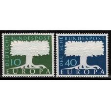 1957 GERMANIA EUROPA CEPT...
