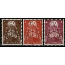 1957 LUSSEMBURGO EUROPA...