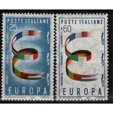 1957 ITALIA EUROPA CEPT...