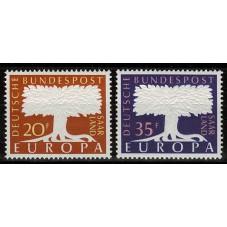 1957 SARRE EUROPA CEPT...